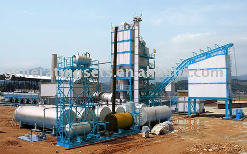 new kind 30t/h to 320t/h automatic control asphalt mixing Plant