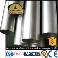 prime quality ASTM 304 50mm diameter stainless steel pipe price