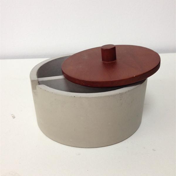 Rechthoekige betonnen items kleine bus/blad bus steriele potten ...