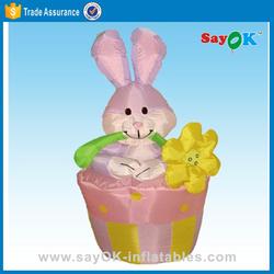 inflatable easter basket outdoor easter egg decoration giant easter egg
