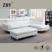Zoy Modern Corner Sofa Set Designs Sofa For Drawing Room & Leather Sofa Price 9832