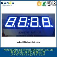 OEM electronics wholesale 4 digital 7 segments mini clock led numeric display