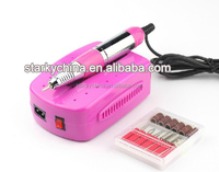 nail art equipment manicure tools electric nail drill machine art salon manicure file polish tool 6 bits