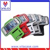 Colorful high quality waterproof Neoprene anti-slip reflective Armband case for apple phones protective case