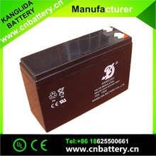 high power battery12V7 lead acid solar battery made in china