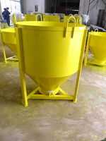 Chinese factory construction machinery parts concrete bucket for sale