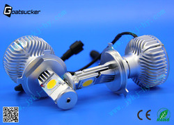 NEW!!! 45w led headlight 2000 lumen headlight jetta car h4 led headlight