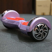 High quality wholesale marquee light hoverboard electric skateboard with bluetooth speaker and ket remote from VCEEGO