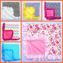 Wholesale boutique baby blanket, handmade baby blanket patterns, baby muslin blanket