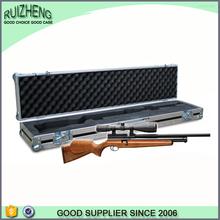 Hot custom fashion aluminum frame wooden gun case