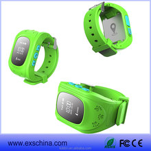 Newest kids gps tracking device smart watch phone with android system