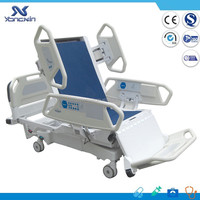 new style motorized icu hospital bed with scale