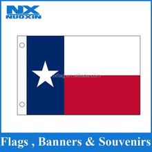 custom polyester printed Texas flag