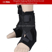 Sports Velcro neoprene orthopedic ankle support foot splint / Enhance ankle fracture brace / CE proved adjustable ankle support