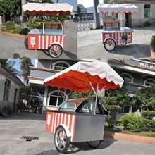 Food cart,push cart stall,ice cream push cart