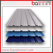 Baoshi Steel cheap anticorrosion heat proof 22 gauge roofing tile