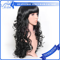 black people wigs , braid & bead wig , full lace for wig making