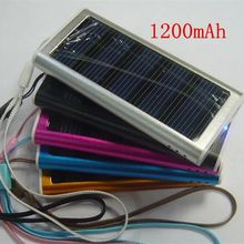 Travel Portable Mobile Phone Mp3/Mp4/ Digital Camera Battery Charger Multifunctional Emergency Charger Solar mobile Power Bank