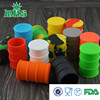 Factory price high quality without line oil barrel containers silicone wax containers oil jars containers in oil barrel shape