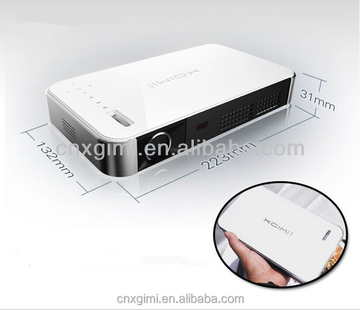 Smart dlp 3d wifi home theater mini portable china mobile phone lcd bluetooth projector buy for Small bluetooth projector