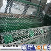 high quality hot dipped galvanized and pvc coated chain link fabric