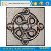 Hot Sell natural stone waterjet marble medallion for sale