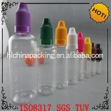 Stock e liquid dropper bottle long thin tip plastic dropper bottle for essence liquid