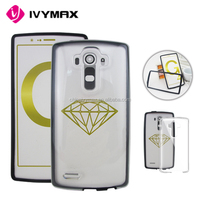 For LG G4 slim transparent crystal clear hard TPU back cover