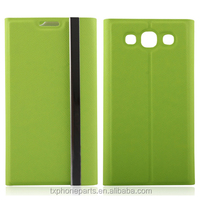 leather flip case for samsung galaxy s4 case