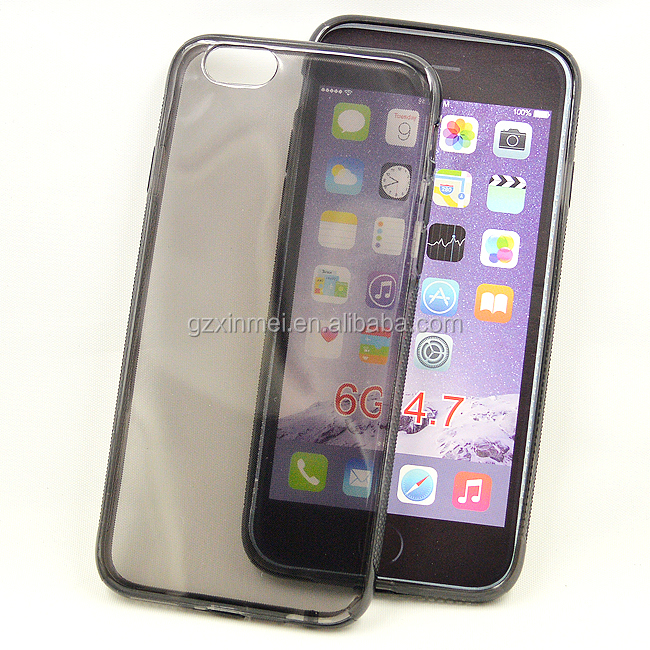 2015 TPU transparent cheap mobile phone cases for iphone 6 case