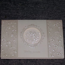 Top grade export ecru wedding invitations