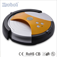 Intelligent robot floor sweeper for home using, with anti-drop system