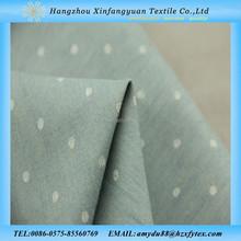 African printed 100 cotton denim dot printed stock fabric