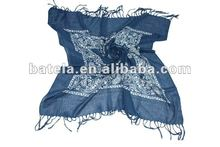 new and fashion kerchief with cashew pattern, new printed square scarf