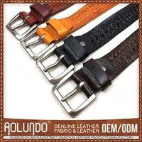Hot Sell Promotional Credible Quality Best Price 3 Inch Leather Belt