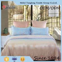 Popular 100% cotton 40s home textile luxury bedding set printed bedding set