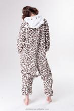 2015 Adults Flannel Pajamas All in One Pyjama Animal Suits Cosplay Adult Winter Garment Cute Cartoon Animal Onesie Pajama Sets