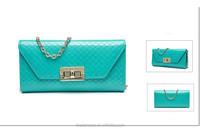 Italian Leather Purse Japanese Style Long Wallet for Women
