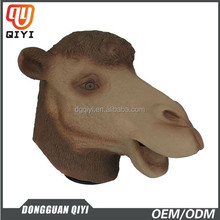 Popular Realistic Rubber Latex Camel Mask Halloween party Latex animal head Mask