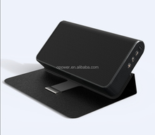 2015 popular private design High end 5200mah Bluetooth wireless Speaker with Power Bank support the AUX audio
