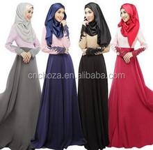 Z50338B Kaftan Abaya Islamic Women muslim long maxi dress muslim dress