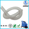 ISO 9001 1/2-8 inch flexible clear steel wire reinforced PVC hose