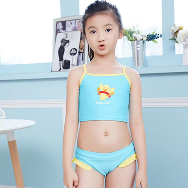 toddler clothes hot sale kids lovely thong binding bikini swimwear