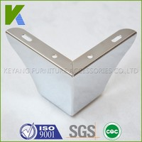 Chinese Popular Metal Bed Legs Chrome Furniture Feet KYE012-8