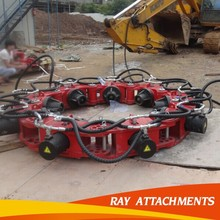 Chinese leading factory excavator attachment hydraulic pile breaker for construction project