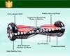 hover board 2 wheels,smart balance wheel,2 wheel electric scooter