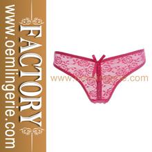Cheap wholesale underwear Lace Bowknot sexy Girls panties