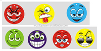 Smile face car paper Air freshener for various patterns