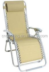Easy folding beach sun bed/lawn chair/lazy lounger