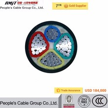 0.6/1kv Cu or Al conductor XLPE insulated PVC sheathed electric cable